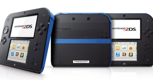 nintendo2DS black blue