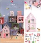 Piccole Case in kit da decorare: Lille Huset