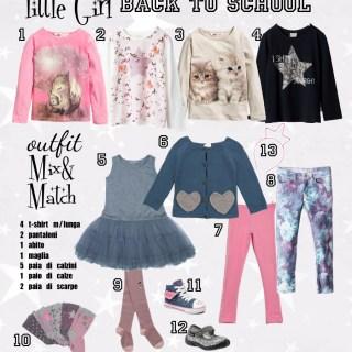 12 pezzi 12 combinazioni outfit bambina