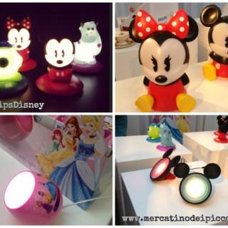 Philips e Disney un' anteprima luminosa: lampade e luci per bambini