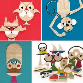 Costruzioni in legno di design: PlayShapes