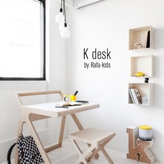 K Desk. La scrivania per bambini di Rafa Kids