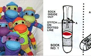 <!--:it-->Il pupazzo scimmietta che venne dal calzino: the Sock Monkey<!--:-->