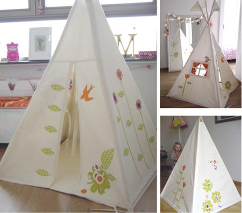 tenda da interni per bambini
