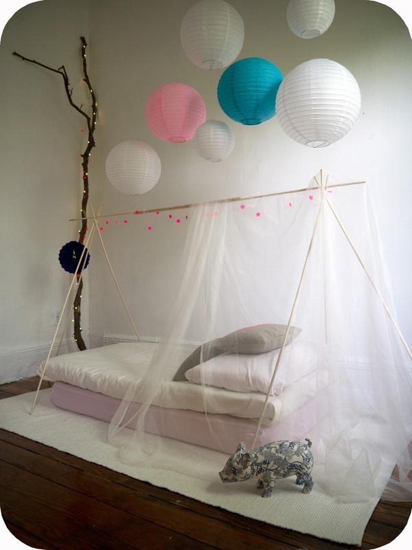 tenda cameretta zanzariera