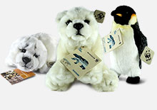 kit wwf peluche adozione specie polari