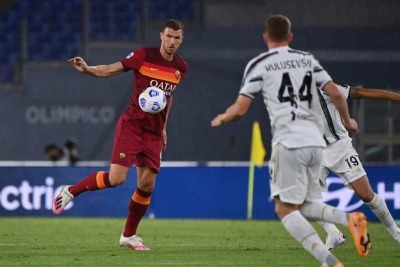 Pictures of the Juventus-Rome match