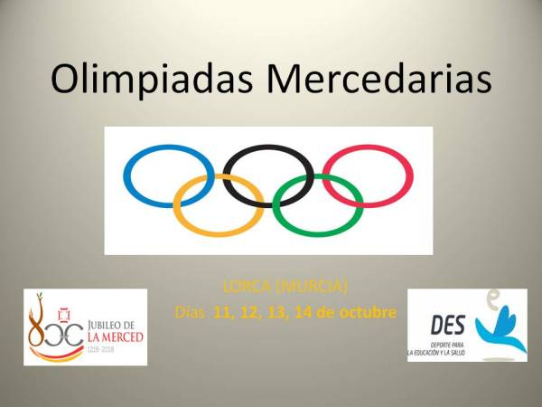Olimpiadas Mercedarias