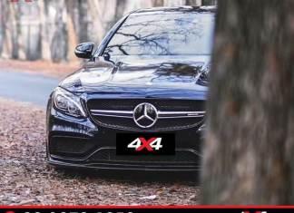 Mercedes C300 lên đời thành xe Mercedes C63 màu đen ngầu, đẹp và sang