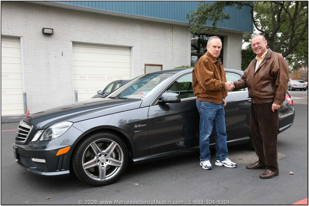 2010 e63 amg delivery mercedes benz of austin european for Mercedes benz european delivery