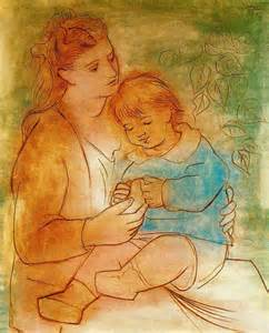Picasso mother & child