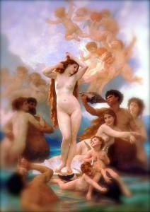 Birth of Venus William-Adolphe_Bouguereau