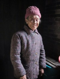 Amazing 92 year old woman we met near Guilin