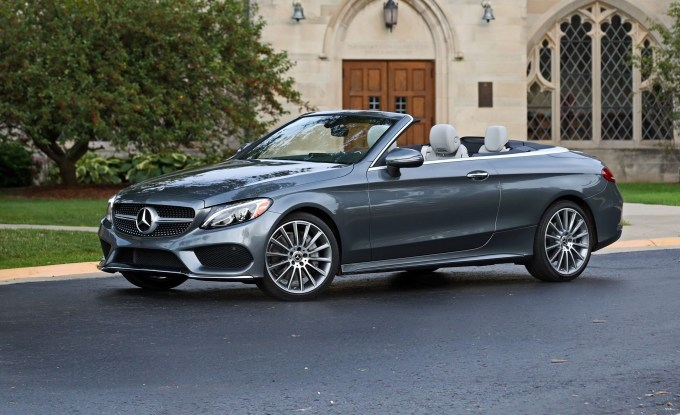 2018 Mercedes Benz C300 Cabriolet Test Review Car And