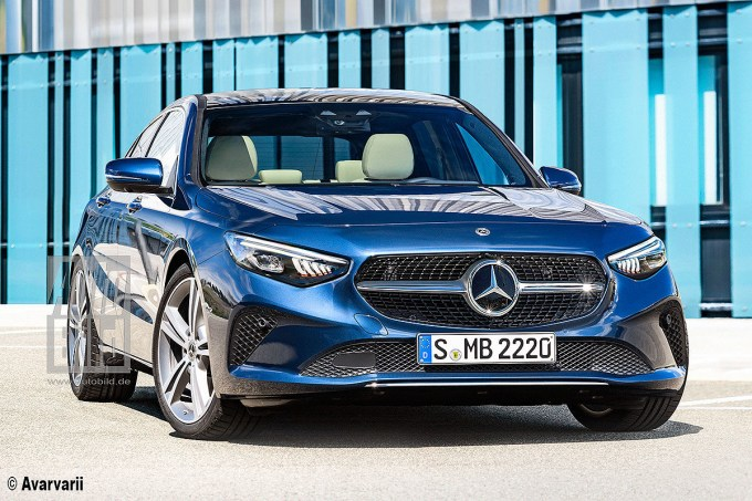 2021 Mercedes Benz C Class This Is How Auto Bild Thinks