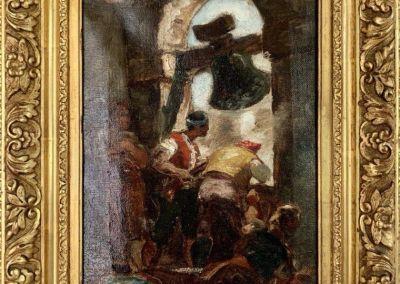 Óleo sobre lienzo de Cesar Álvarez Dumont