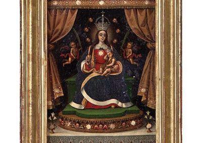 Óleo Virgen con Niño