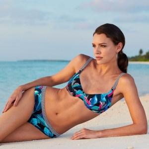 Bikini reductor estampado