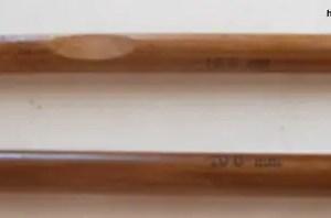 réf 02-02-10 crochet en bambou n 10