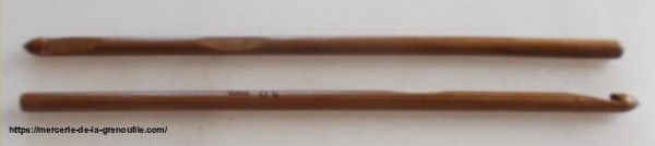 crochet en bambou n 5,5