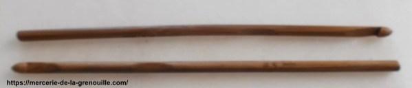 crochet en bambou n 5