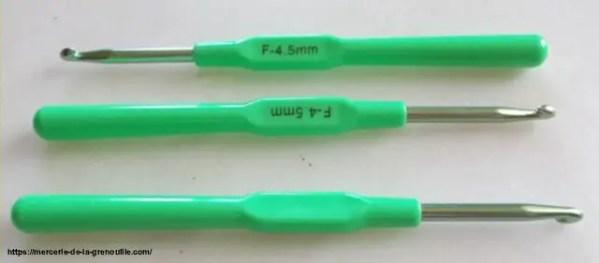 crochet ergonomique n 4,5