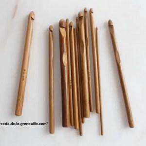 réf : 02-02-05 crochet en bambou n 5