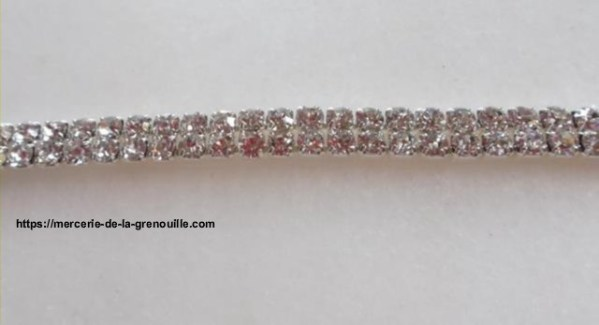 galon strass en cristal 8mm