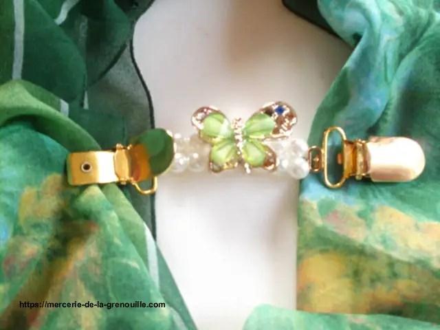 réf 05-m- 0001 Broche clip papillon