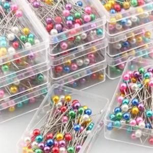 réf 03-03-007 épingle de couture boule ronde