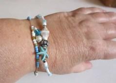 réf 12-b-0008 bracelet de cheville