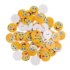 ces petits boutons vont faire le bonheur de vos enfants, ils vont vouloir en mettre partout, vendu par 10