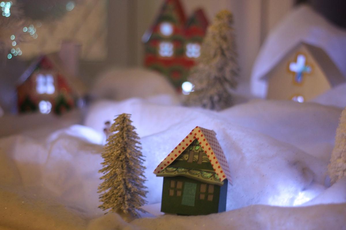 Handmade Putz Houses | MercerMe.com