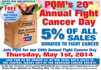 Pennington Quality Market's Fight Cancer Day