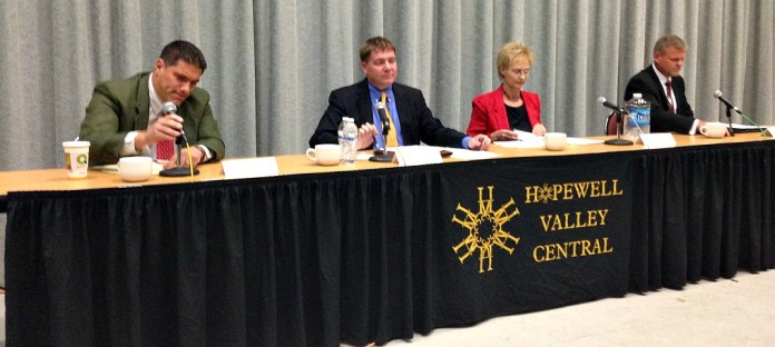 Live from Hopewell Township Candidate Forum at HVCHS