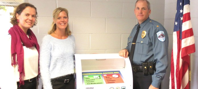 "Hopewell Township Police Dept Installs New ""Project Medicine Drop"" Box for Unused Medications"