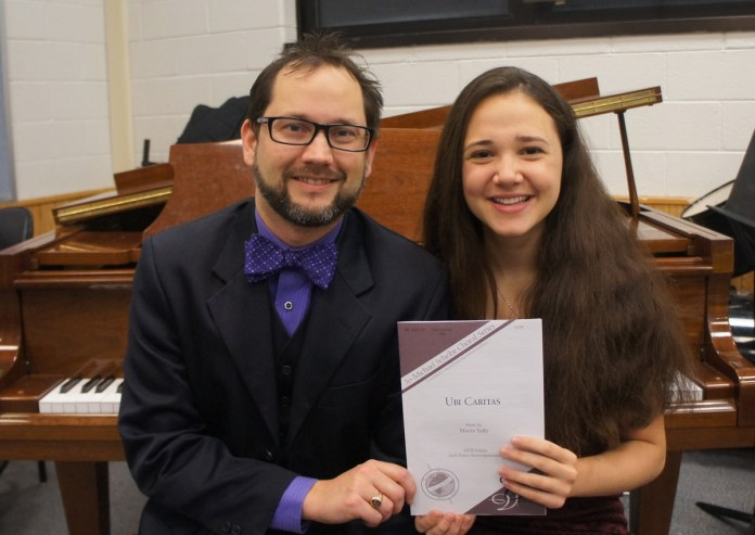 Hopewell Valley Central High School Senior a Published Composer