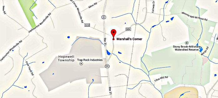 Marshalls Corner Road Construction