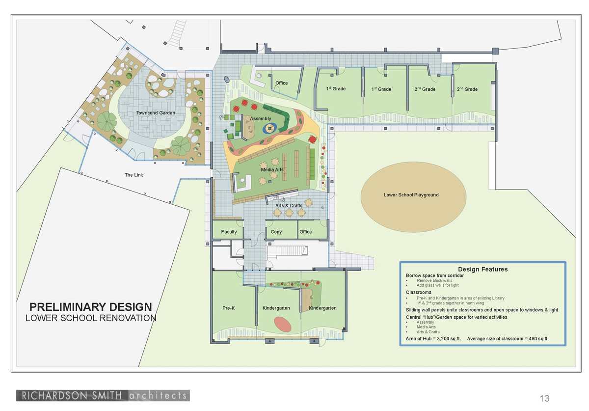 Arts and crafts center floor plan for Arts and crafts floor plans