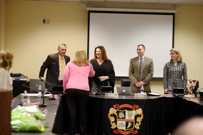 Teachers Honored as Governor's Educators of the Year at HVRSD School Board Meeting