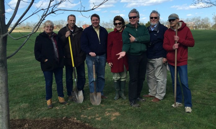 Arbor Day Honored by Hopewell Township