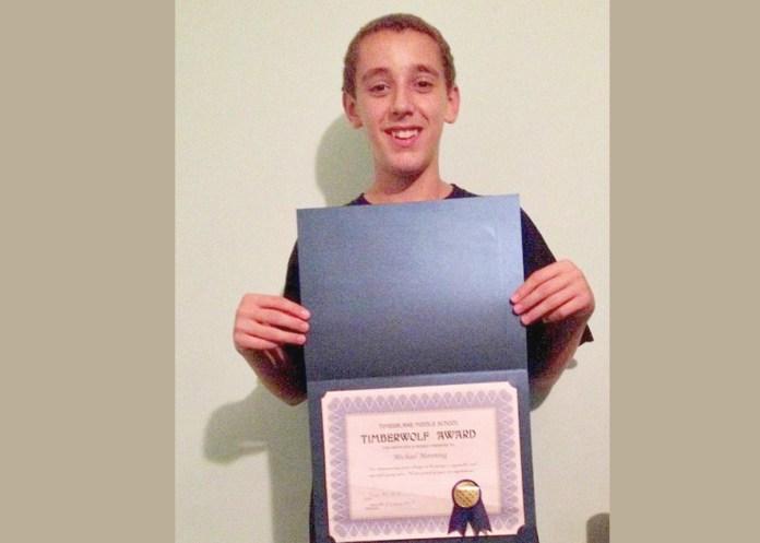 Union Fire Company and Rescue Squad Junior Recognized for Academic Achievement