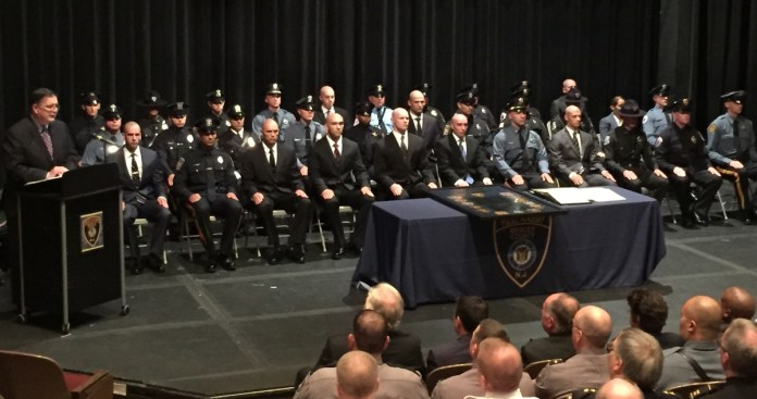 Mercer County Police Academy Graduates 13th Class of Police Officers