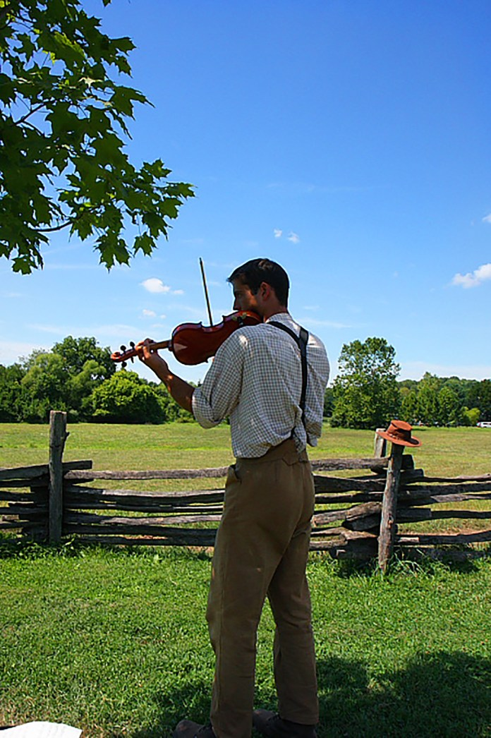 Fiddling Traditions in America: A History and Demonstration at Howell Farm