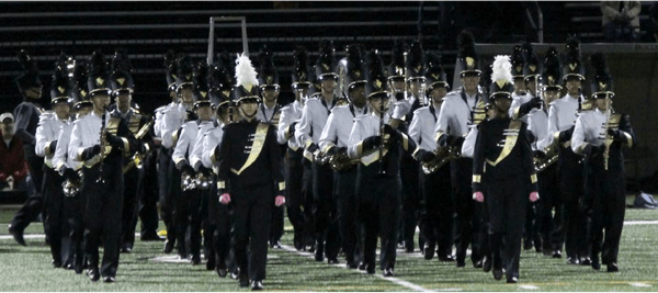 Band to the Ready, HVCHS Marching Black and Gold | MercerMe com