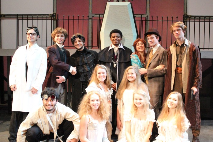Dracula Being Performed at Hopewell Valley Central High School