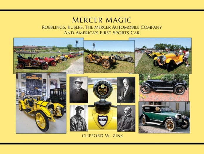 Local Author Publishes New Book on History of Mercer Automobile, Upcoming Book Signings