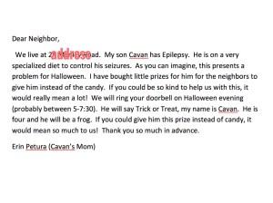 cavan letter
