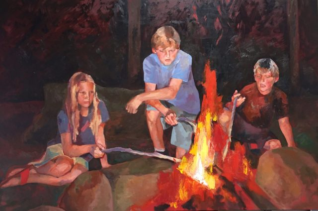 """""""Campfire"""" by Ryan Lilienthal"""