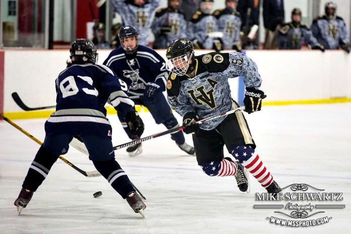 (Photos) Hopewell Valley Varsity Hockey Salute to Service Game